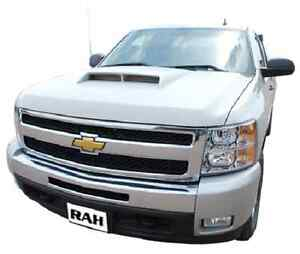 chevy silverado 1500 aggressive functional ram air hood. Black Bedroom Furniture Sets. Home Design Ideas