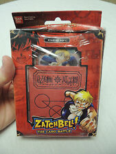 NIP Zatchbell The Card Battle Starter Set 1 Item # 19251 Ban Dai Game 2005