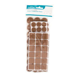 Ashley Peel & Stick Floor Protector Pack - 120 Assorted Pieces