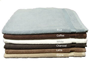 Egyptian-Cotton-Bath-Mat-Floor-Towel-Multi-Colours-60x75cm-550GSM-Clearance-Deal