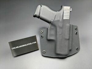 Details about OWB Kydex concealed CCW holsters for Glock 43 - right handed