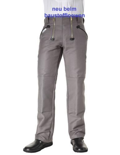 Pioniere Gilda Pantaloni 312 Grigio Taglia 48 senza percussione muratori Pantaloni lavoro pantaloni