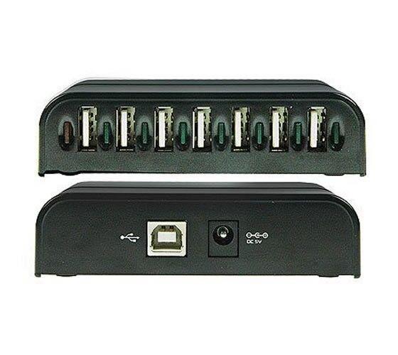 LinXcel UH-217C-US Multi-TT Mode USB 2.0 7-Port Hub with AC Power Adapter