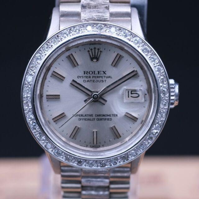AUTHENTIC RARE Rolex Lady-Datejust 26MM President REF 6527 1970,  RL_641596