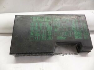 isuzu fuse box trusted wiring diagram sprinter fuse box isuzu trooper bighorn 3 1 91 02 gen2 4jg2 fuse box cover lid 7154 isuzu ascender fuse box isuzu fuse box
