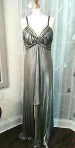 Bnwt Joseph Ribkoff Art Deco Style Gown Maxi Dress Uk Size 14 Ebay