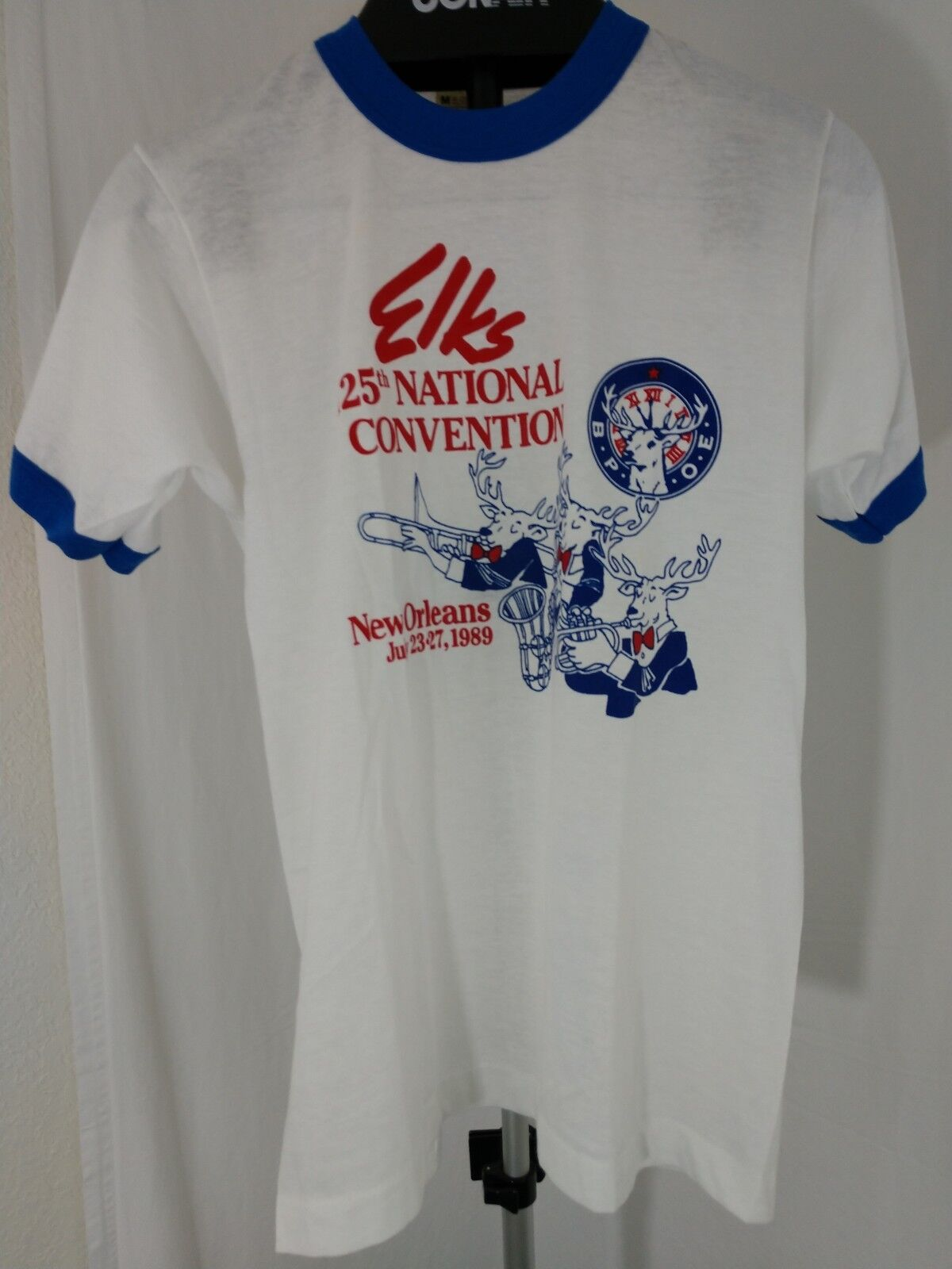Rare 80s Vintage ELKS 125th national Convention New Orleans Medium