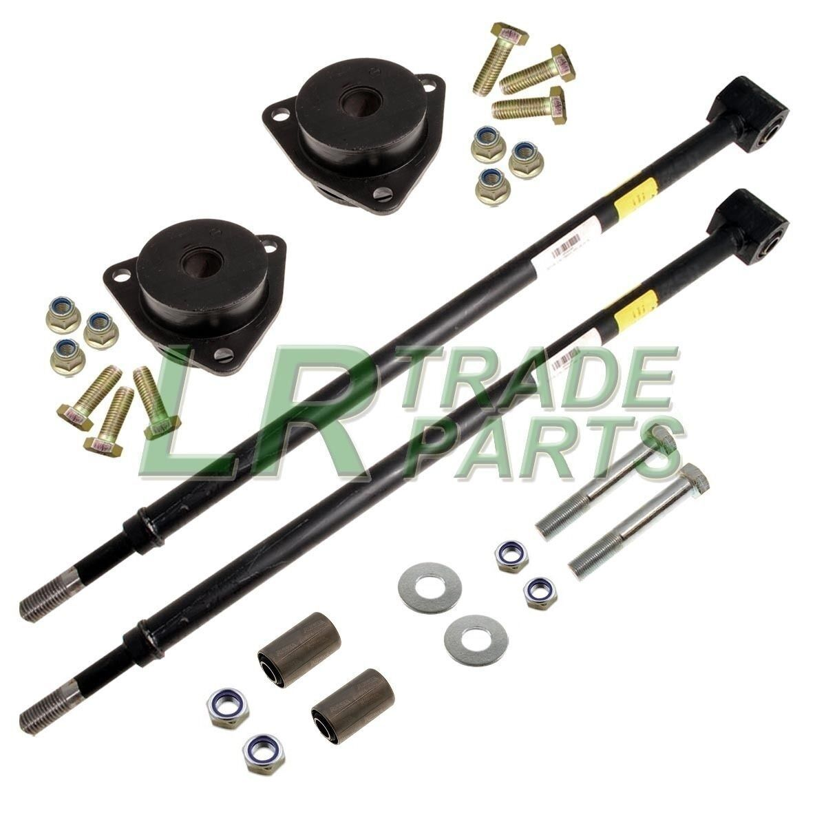 Rear Lower Trailing Arm Kit Bushes Bolts /& Links for Land Rover Defender NTC8328