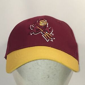 Image is loading Sun-Devils-Hat-Dad-Cap-Maroon-Gold-Men-. Image not  available Photos not available for this variation 86f621c1cc16