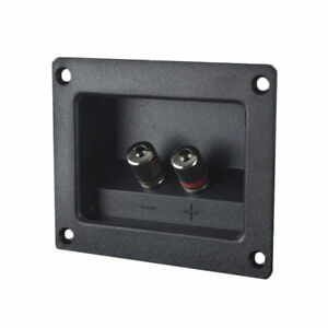 Install Bay TCSB2 Square Binding Post w/ Nickel Terminals for Sub/Speaker Boxes