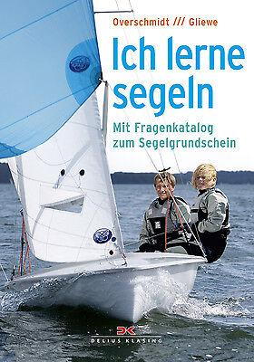 Sachbücher Bootsteile & Zubehör Mutig Segeln Lernen Mit Fragenkatalog Zum Segelgrundschein Manöver Segel Setzen Buch