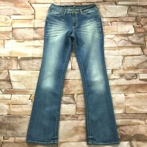 ana-Womens-Jeans-size-12-Ultra-Tall-Long-x36-034-ins-new-Medium-Wash-Cotton-Stretch