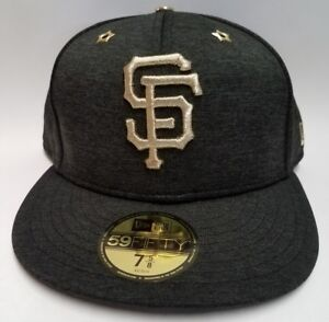 2c02e44de5f1d8 Image is loading San-Francisco-Giants-Heathered-Black-2017-All-Star-