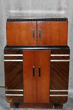 1930's All Original American RADIO BAR & Glassware , Philco Radio - ART DECO Era