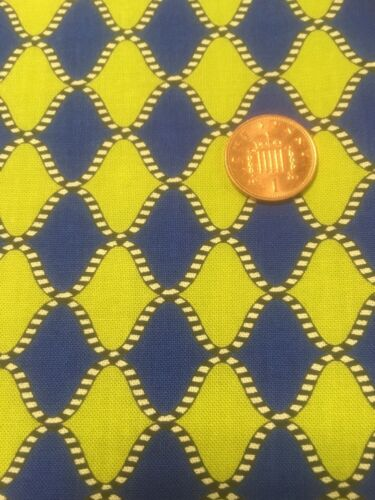 100/% Cotton Quilting craft Fabric Origins 794 Harlequin Jennifer Young Benartex