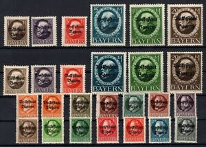 P135621-BAYERN-OLD-GERMANY-YEARS-1919-1920-MINT-MNH-MH-CV-410