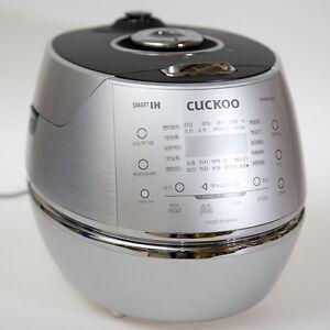 CUCKOO 6 Cups Smart IH Pressure Rice Cooker CRP-DHR0610FS