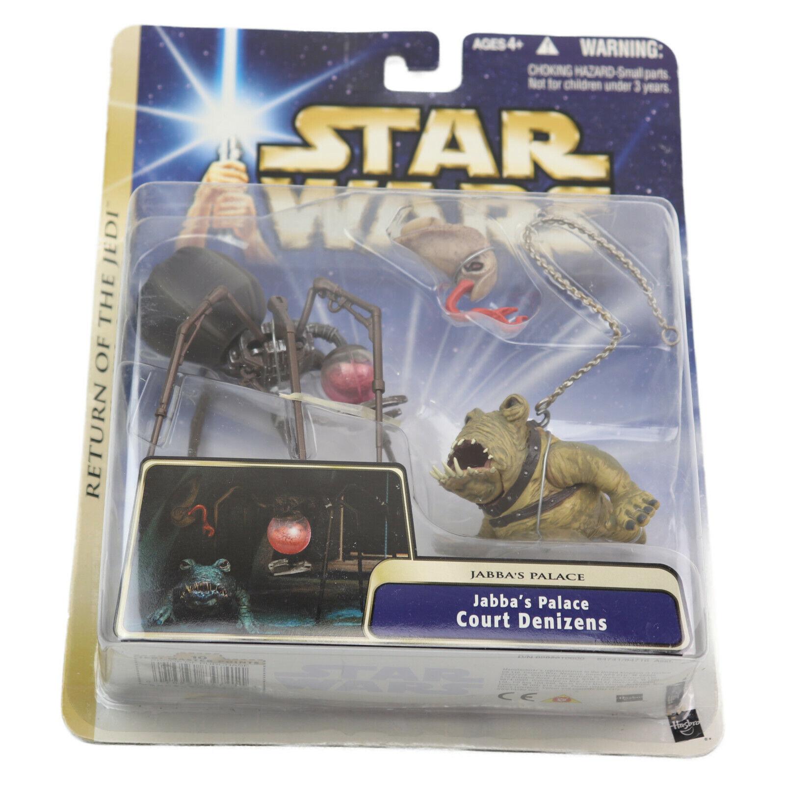 Retorno de las Jedi De Estrella Wars rojoj Set Figuras De Acción Jabbas Palacio Tribunal habitantes