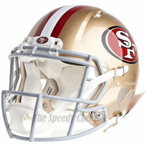 SAN-FRANCISCO-49ERS-RIDDELL-NFL-FULL-SIZE-AUTHENTIC-SPEED-FOOTBALL-HELMET