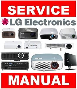 lg dlp lcd led home theater projector service manual and repair rh ebay com Pontiac Shop Manual 2007 Pontiac Shop Manual 2007