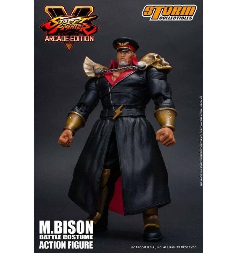 Storm Collectibles - Street Fighter V Arcade Edition - M.Bison (Vega) Battle Cos
