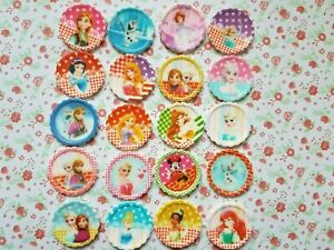 20-x-Bargain-MIX-Disney-Princess-Flatback-Planar-Resin-Embellishment-Hair-bow