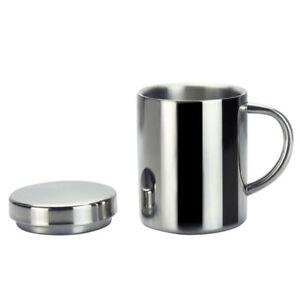 Mode-Edelstahl-Kaffeetasse-Doppelte-Isolierung-Trinkbecher-Teetasse-mit-Deckel