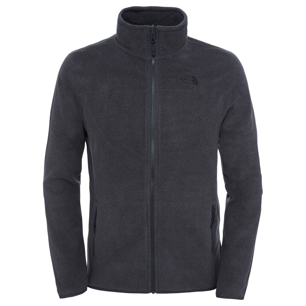The North Face 100 Glacier Full Zip Men Herren Fleecejacke (XXL, monterey blue)