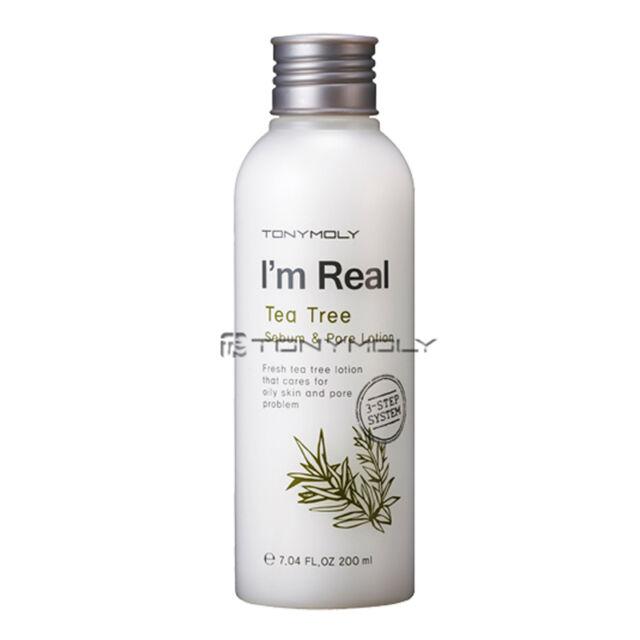 [TONYMOLY] I'm Real Tea Tree Sebum Pore Lotion 200ml / Sebum controlling lotion
