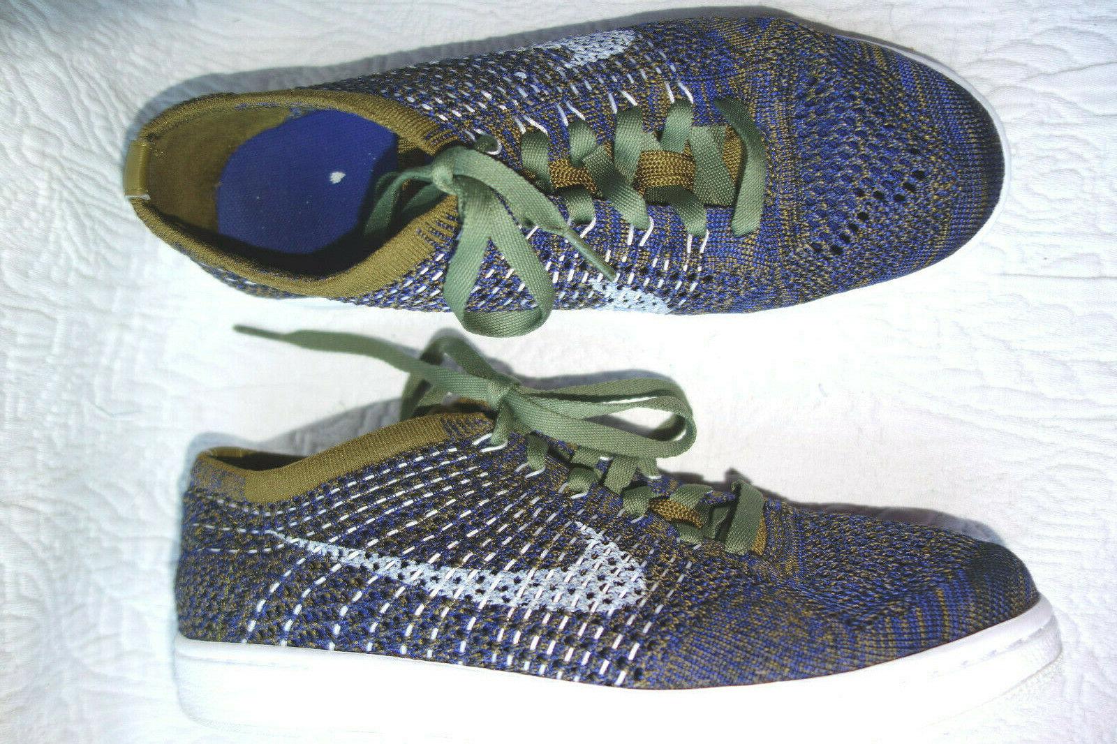 NikeTennis Classic  40 (39)  25,5 cm blau olivgrün Turnschuhe Mesh fast neu Neuartiges Design