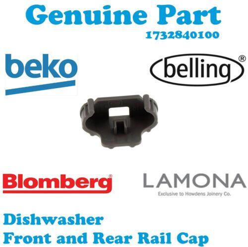 Beko DIN15210 DFC05R10W DFN28J20X Lave-vaisselle Rail Cap Panier Avant Arrière Clip