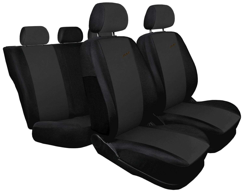 Car seat covers fit Peugeot 207 XR black//dark grey sport style