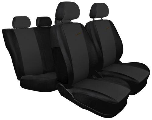XR black//dark grey sport style Car seat covers fit BMW 5 Series