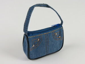 "Light Denim Purse Fits 18/"" American Girl  Dolls"