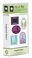 CRICUT LITE INSPIRED RELIGIOUS HEART CARTRIDGE NEW 50 PATTERNS CROSSES ETC Craft Supplies