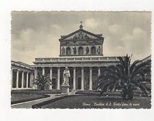 Roma Basilica di S Paolo Fuori le Mura Postcard Italy 560a