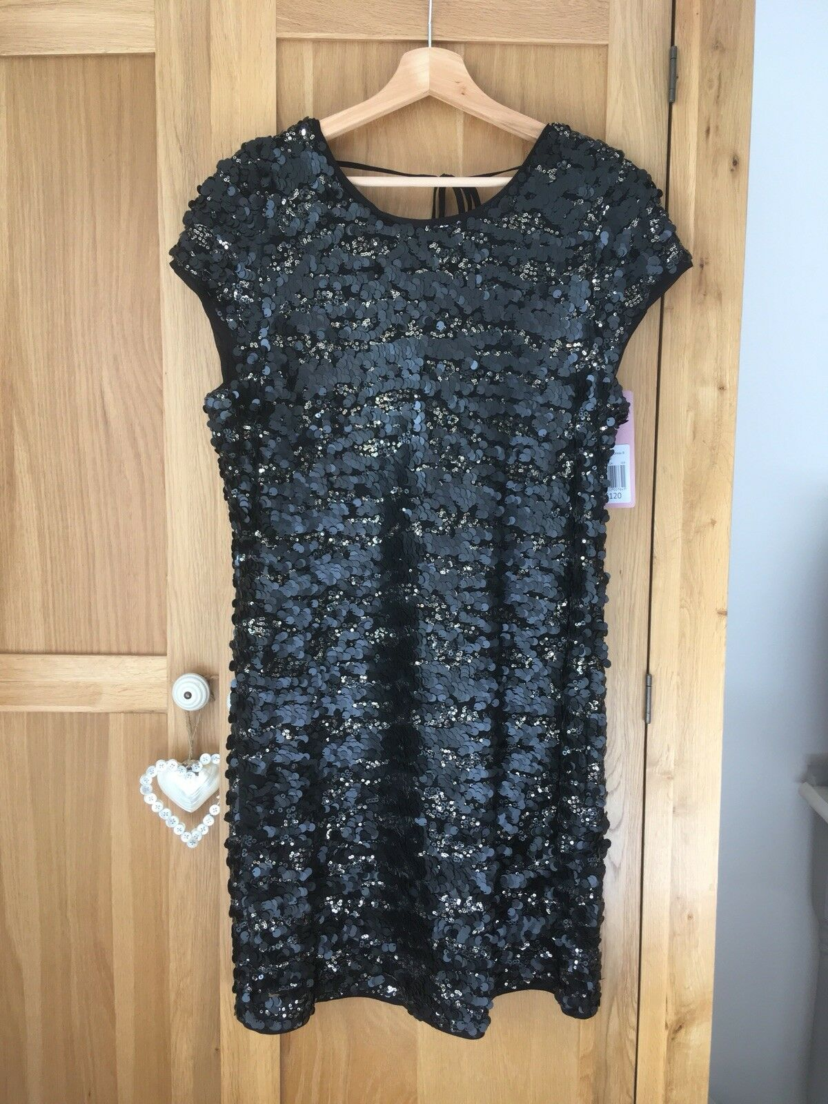 Stunning Phase Eight Sequin Dress Size 14