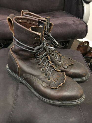 red wing boots 9.5
