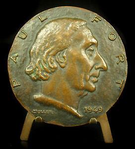 Medalla-Pablo-Fuerte-poesia-Una-chanson-qui-habla-sc-Muller-poesia-Poeta-Medal