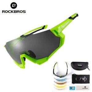 ROCKBR5 Lens Polarized Cycling Glasses Men//Women Sport Road Bike Cycling Eyewear