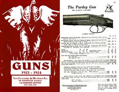 NY Von Lengerke /& Detmold 1890 Gun Catalog