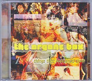THE ORGONE BOX ~Things That Happened Then  Original UK 2002 CD - Psych/Pop Gem