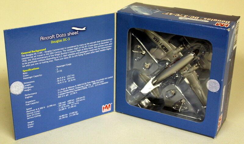 HOBBYMASTER 1 200 échelle HL1308 Douglas DC3 Betsy Cathy Pacific diecast plane