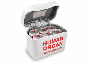 Fred EMT Emergency Meal Transport Human Organ Insulated Bag Cooler Drink Lunch