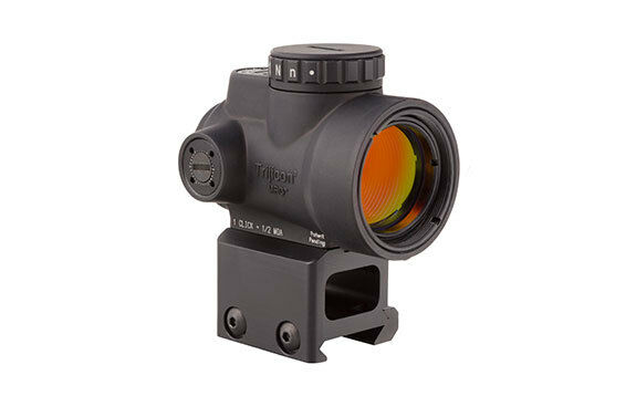 Trijicon MRO-C-2200006 MRO 2.0 MOA Adjustable Red Dot Sight Co-witness Mount