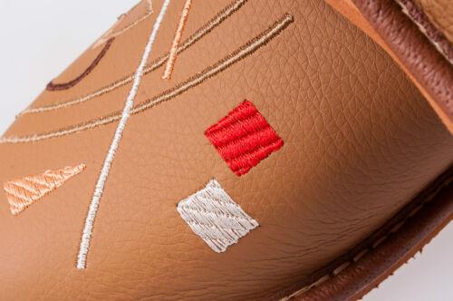 Women`s//Ladie`s handmade Leather slippers sizes UK 3,4,5,6,7,8