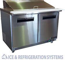 "Sun Ice 48"" Commercial Salad & Sandwich Mega Top Prep Table Cooler SUNST-48-18"