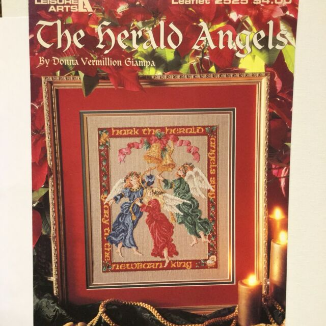 The Herald Angels Donna Vermillion Giampa Cross Stitch Pattern 2525 Retired