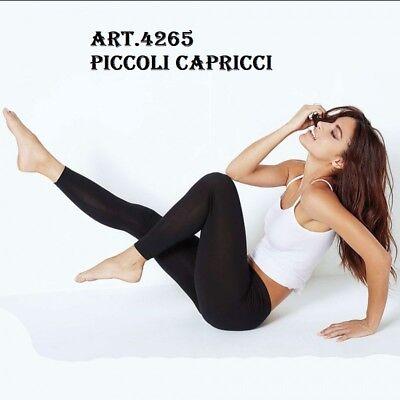 Leggings donna Jadea lungo in morbido cotone elasticizzato liscio art 4265