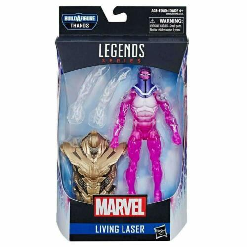 """Marvel leggende Avengers LASER VIVENTE 6/"""" Leggende Figura"""